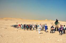 Heading to Serapeum of Saqqara