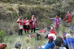 Ceremony at Tambomachay