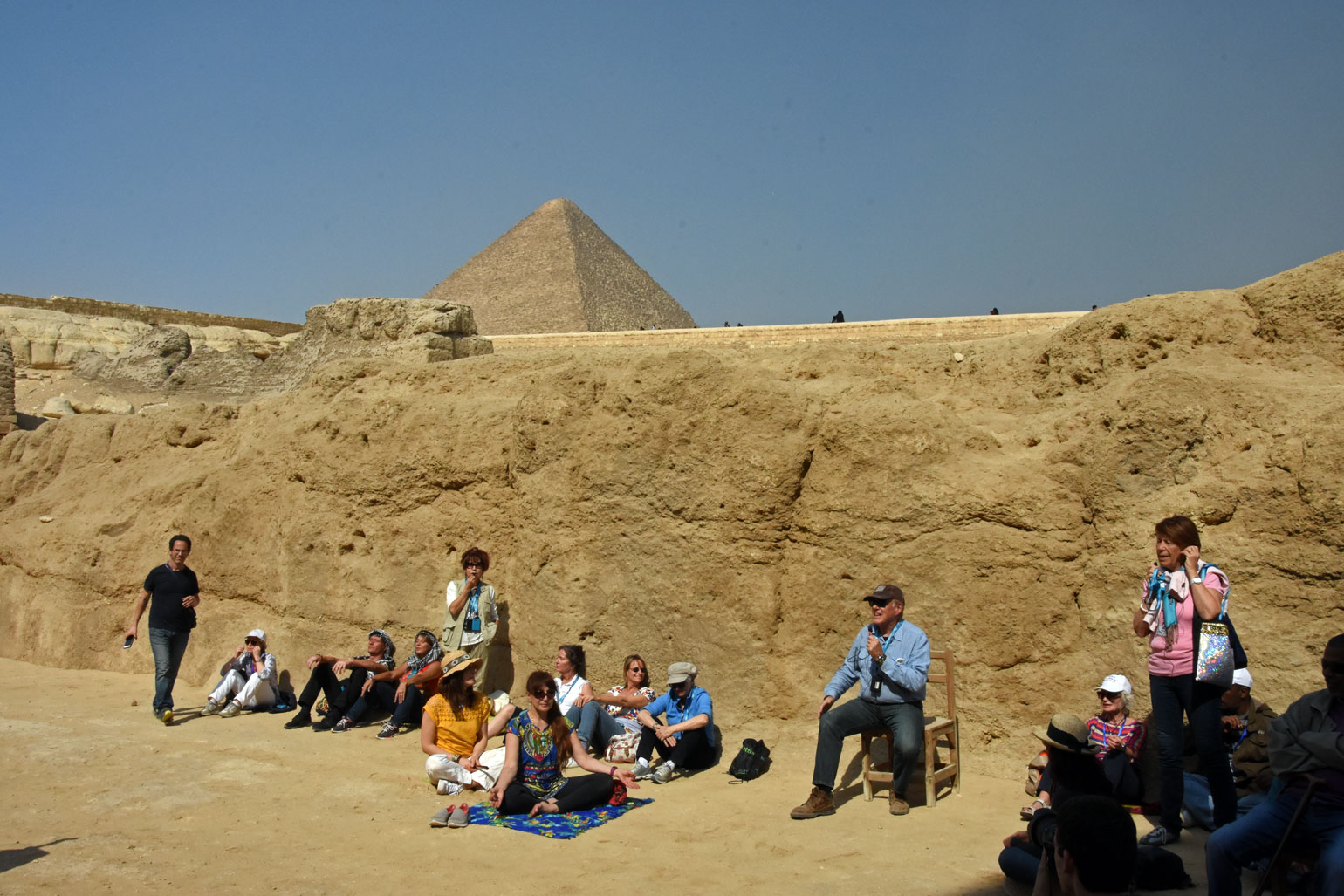 Kryon channel at the Sphinx