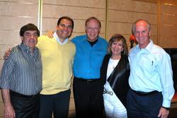 Robert, Jorge, Lee, Mary Ellen & Len