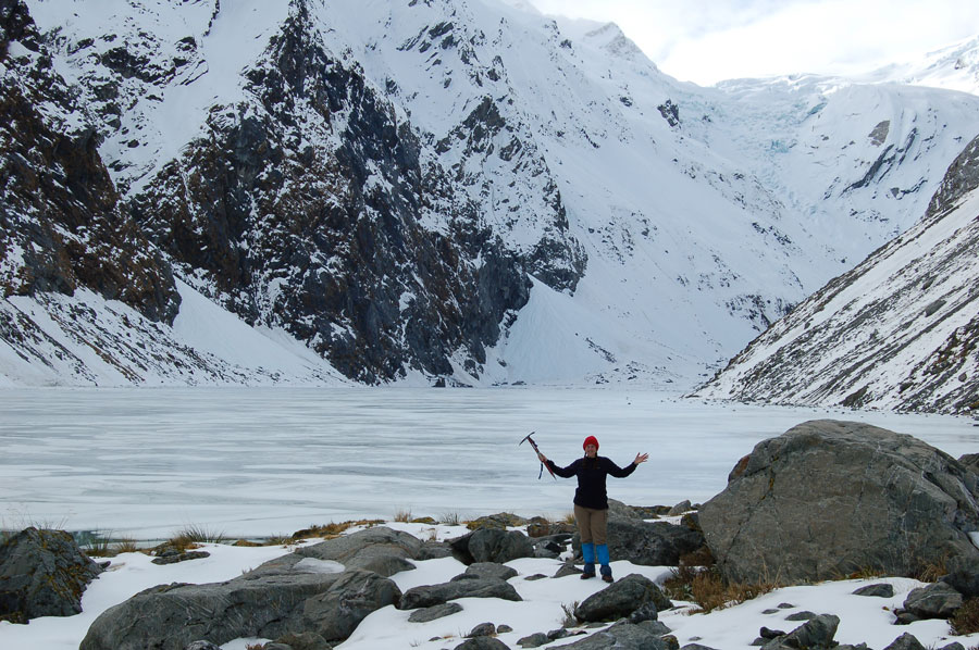 Monika Muranyi at Ice Lake