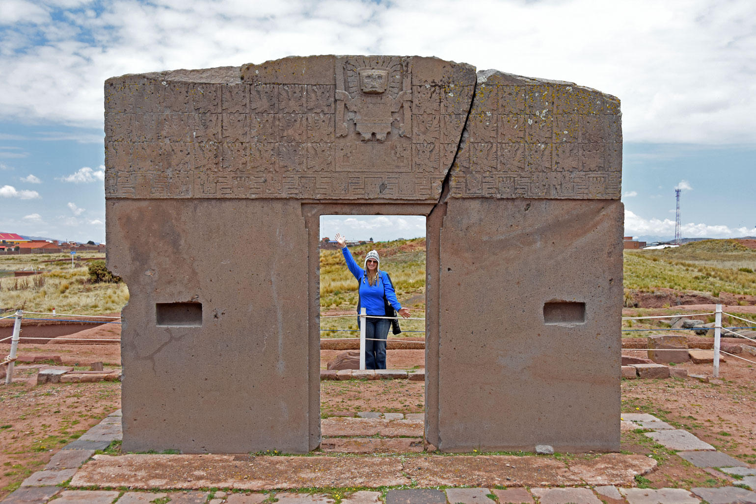 Gate of the Sun at Tiahuanaco