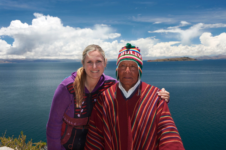 Monika Muranyi & Bolivian Shaman