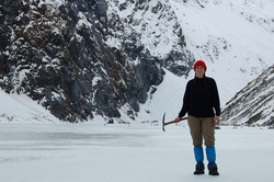 Monika Muranyi at Ice Lake