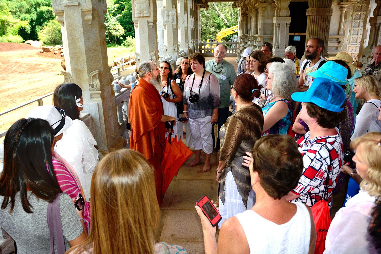 Inside the Iraivan Temple