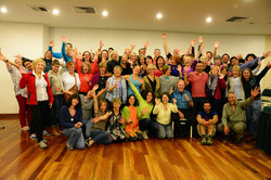 Farewell meeting Cusco, Peru