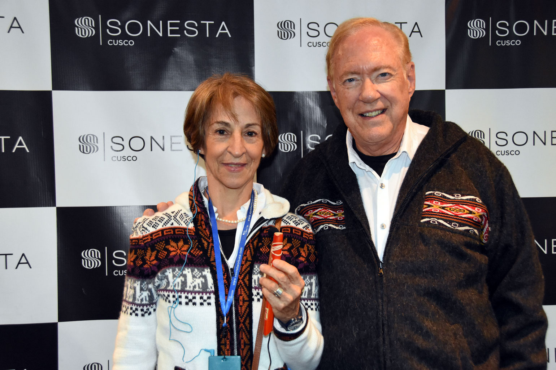 Leonor Botero & Lee Carroll