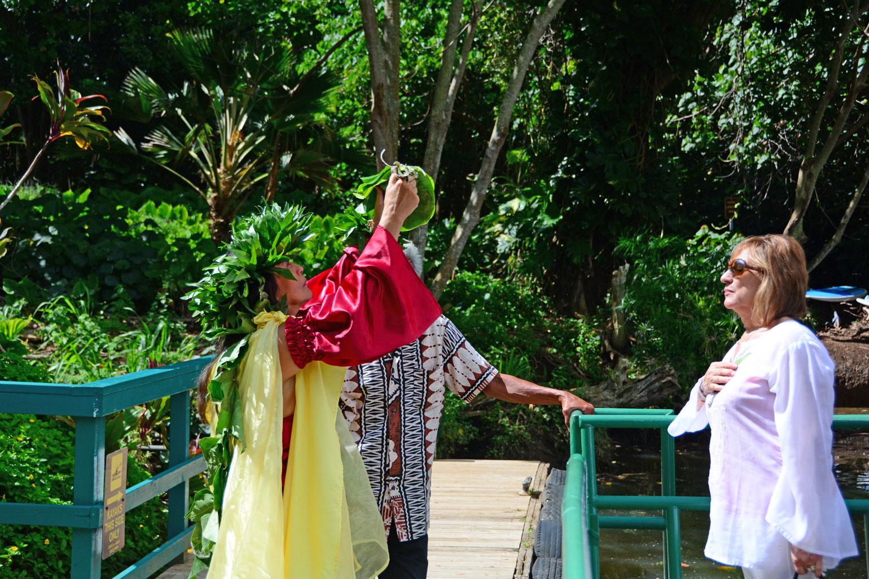 Blessing from Kahuna Kalei'iliahi