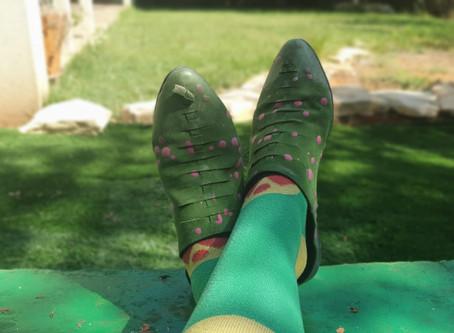 צבע ירוק - יצירות ומשימות