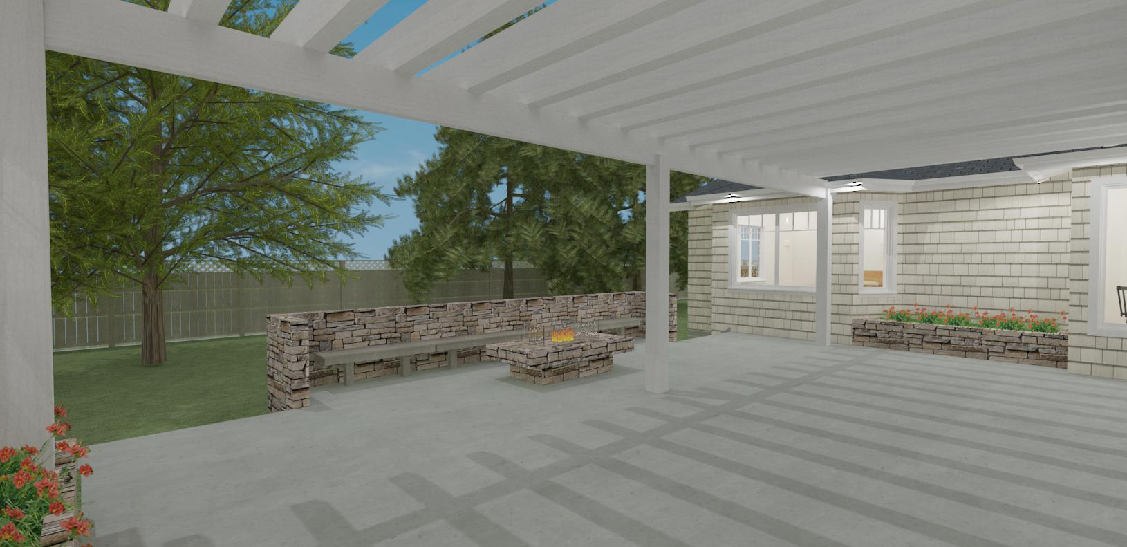Proposed Courtyard Patio