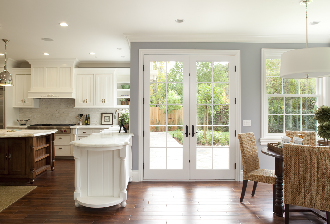Breakfast Nook French Doors