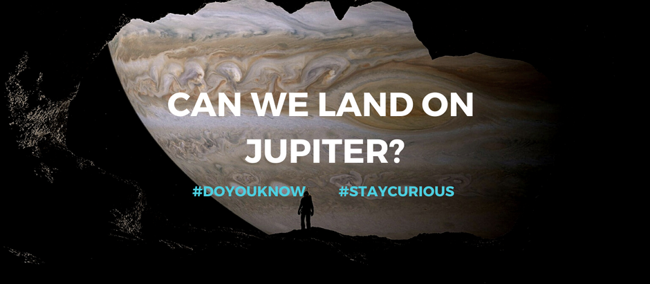 Can We Land on Jupiter?