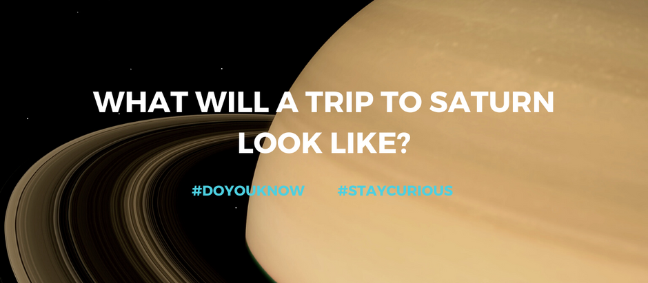 Do you know: What will a trip to Saturn look like?
