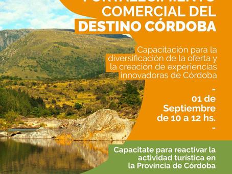Capacitación Fortalecimiento Comercial del Destino Turístico Córdoba