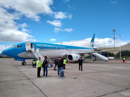 Novedades en Aerolíneas Argentinas, rutas y frecuencias.