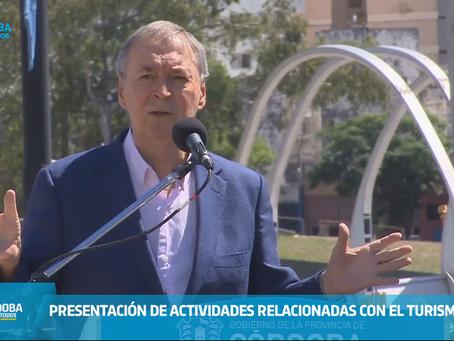 Anunciaron el cronograma de la vuelta del Turismo en Córdoba