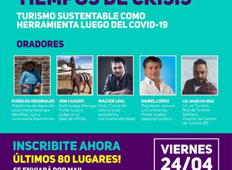 Creatividad en tiempos de crisis: El Turismo Sustentable como herramienta luego del Covid-19