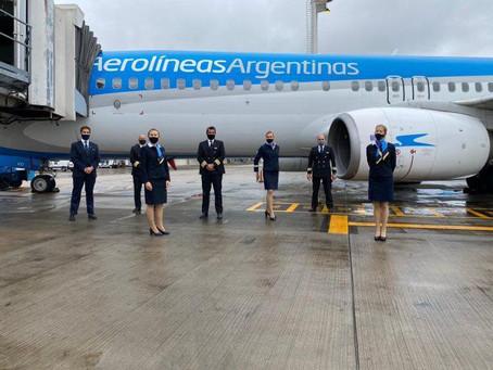 Aerolíneas Argentinas anunció más vuelos internacionales