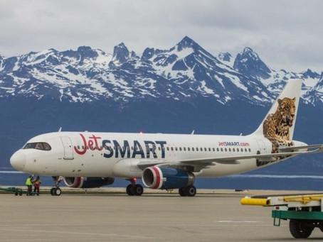 JetSMART incorpora a sus rutas a El Calafate
