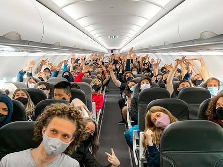 """Volvieron los viajes de egresados a Bariloche, se realizarán a """"modo burbuja"""""""