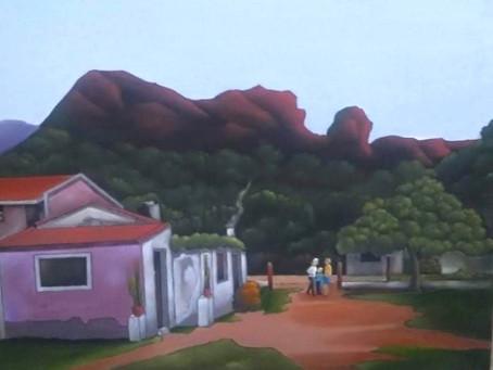 Encuentro de pintores en el Cerro Colorado