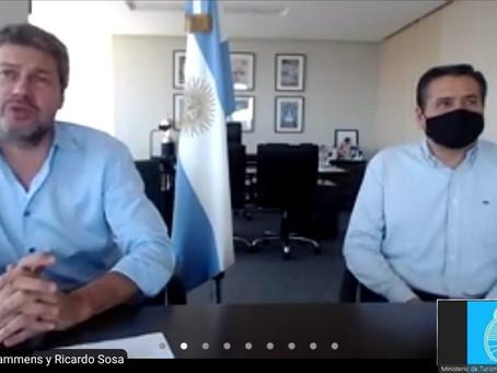 Segunda fase de la reapertura internacional de la Argentina