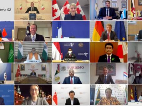 G-20 propone siete claves para la recuperación del turismo post pandemia