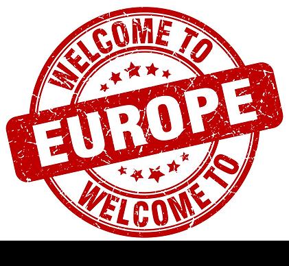 Avrupa'ya hosgeldiniz.