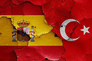 spanish turkish flag