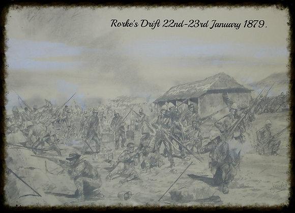 A3 print battle of Rorke's Drift 1879