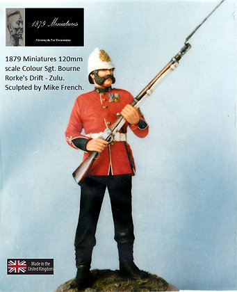 Colour Sergeant Bourne 120mm Mike French