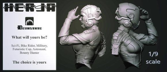 """""""Herja"""" 1/9 scale bust"""
