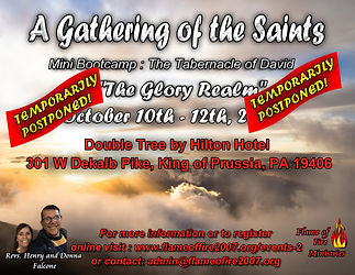 A Gathering of the Saints The Glory Real
