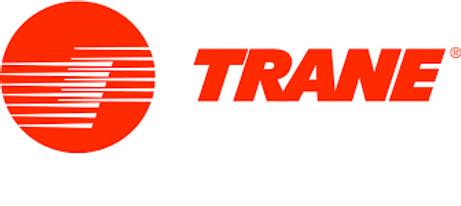 Trane Logo. Trane is an HVAC manufacturer and Greene's Plumbing, Heating and Electrical is a Tiffin Ohio Trane Dealer. We offer the entire Trane line of products and are trained to install and repair all Trane materials. www.greenesplumbing.com