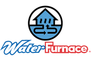 water furnace logo. Water Furnace is a geothermal manufacturer that Greene's Plumbing, Heating and Electrical installs and repairs. www.greenesplumbing.com