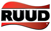 Ruud Logo. Ruud is a HVAC, water heater and generator manufacturer. Greene's Plumbing, Heating and Electrical installs and repairs their products. www.greenesplumbing.com