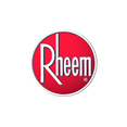 Rheem Logo. Rheem is an HVAC manufacturer that Greene's Plumbing, Heating and Electrical services and repairs. www.greenesplumbing.com