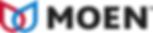 Moen logo. Moen is a kitchen and bathroom fixture manufacturer. Greene's Plumbing, Heating and electrical installs their products. www.greenesplumbing.com