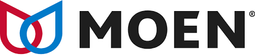 Moen logo. Moen is a kitchen and bathroom fixture manufacturer. Greene's Plumbing, Heating and electrical installs their products. www.greenesplumbing.com