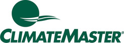 ClimateMaster Logo. ClimateMaster is an HVAC manufacturer. Greene's Plumbing, Heating and Electrical repairs their products. www.greenesplumbing.com
