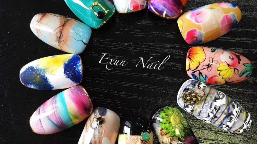 指尖的艺术Nail art