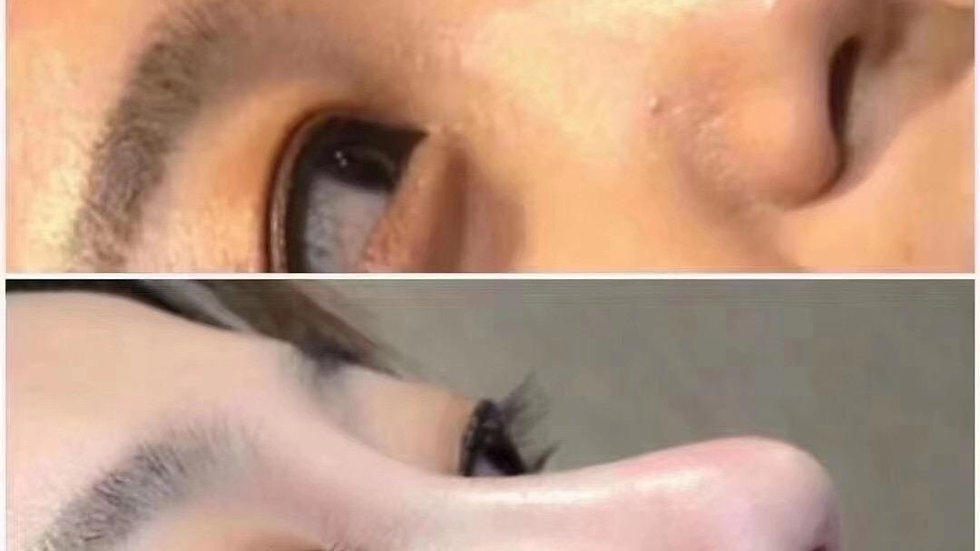 Sculpted nose