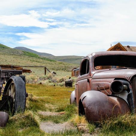 Wild Wild West in Ghost Town Bodie