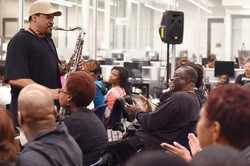 Rod Tate Concert In Crowd