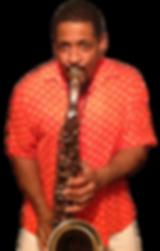 Rod Tate Playing Tenor Sax In PolkaDots