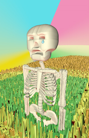 Stylized Skeleton