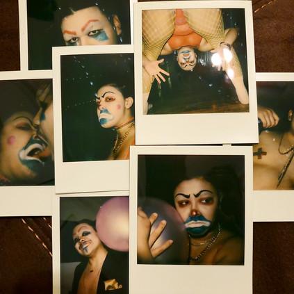 CLOWNS Polaroids