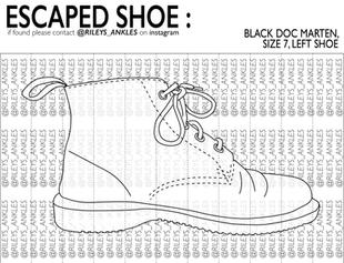 Escaped Shoe Poster 2