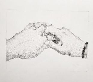 Dotwork Hand Study