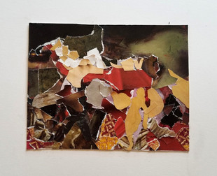 Collage Study of The Death of Sardanapalus